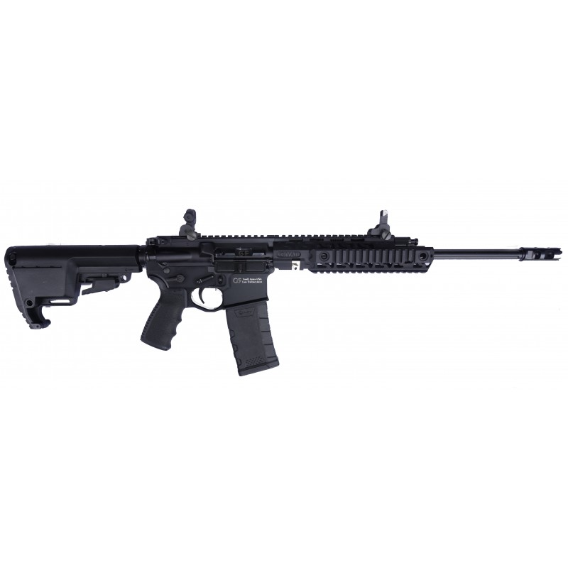 "Givati AR-15 5.56x45 piston driven Collapsible stock Carbine 16 "" barrel free float"
