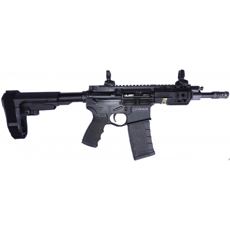 "Givati AR-15 7.5"" piston 5.56x45 barrel free float"